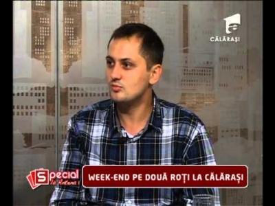 Reportaj Antena 1 -29.09.2014-Week-end pe doua roti la Calarasi